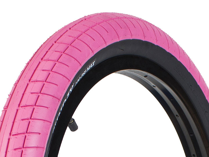 "STREET SWEEPER BMX TIRE 2.4"" Pink"