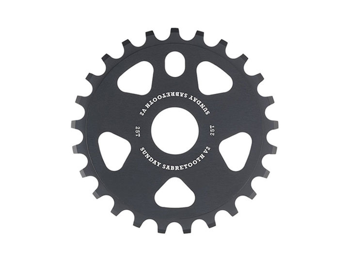 [재입고]SABRETOOTH V2 SPROCKET Black -2 Sizes-