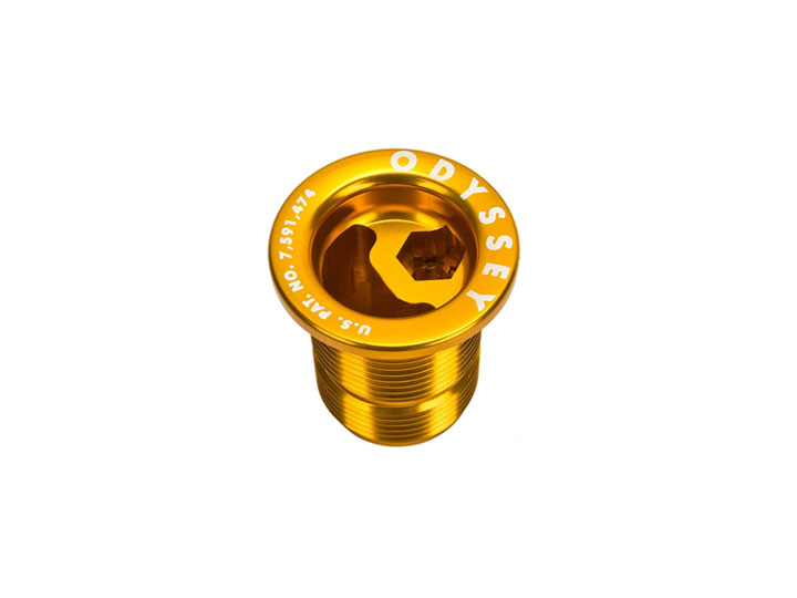 ODSY FORK TOP BOLT [M24] -Gold-