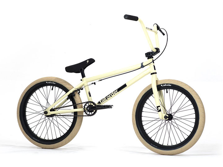 "2020 Tall Order Ramp Medium BMX 20.3""TT - Gloss Pastel Yellow"