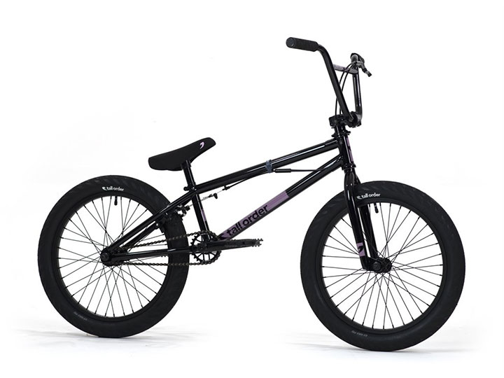 "[품절] Tall Order Flair Park BMX 20.4""TT - Gloss Black"