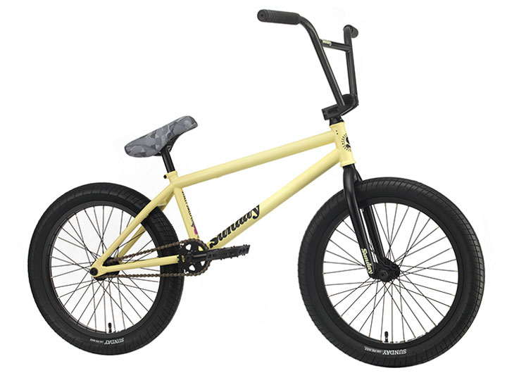 2020 선데이 스트리트 스위퍼 STREET SWEEPER 20.75TT BMX -Matte Notepad Yellow- (Jake Seeley model)