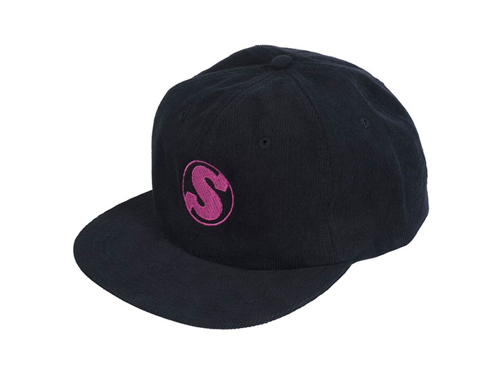 SUNDAY BULLPEN CORDUROY HAT Black