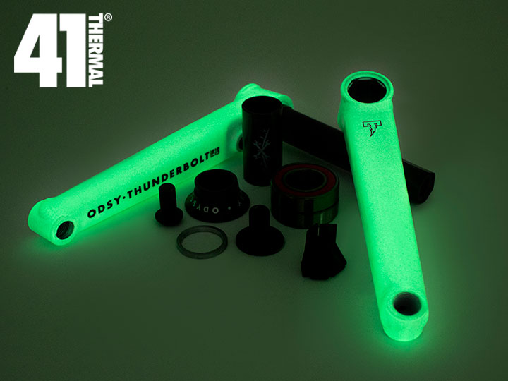 [41-Thermal® 20th] ODYSSEY THUNDERBOLT PLUS CRANKS -Glow in the Dark-