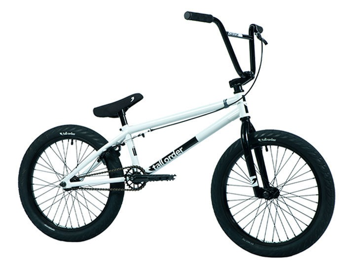 "[조기품절!]2021 톨오더 램프 라지 TALL ORDER RAMP LARGE BMX 20.8""TT -Gloss White & Black Parts-"
