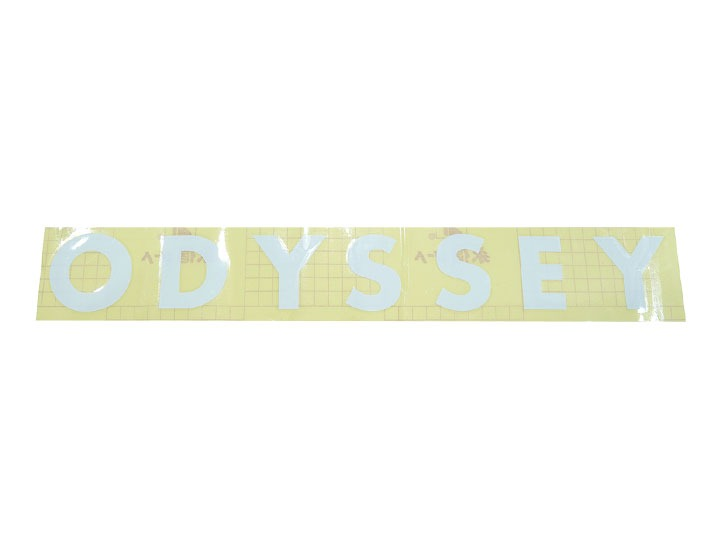 ODYSSEY FUTURA BIG/RAMP DECAL White Die-Cut Transfer