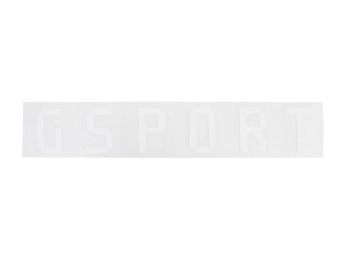 [재입고]GSPORT Rim Sticker (Die-Cut) -White-