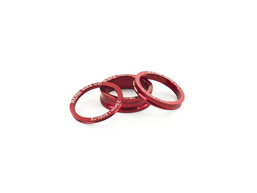 KINK ALLOY HEADSET SPACER SET Red