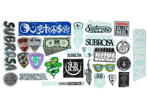SUBROSA STICKER PACK A