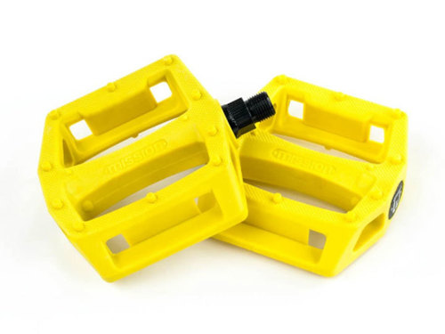 MISSION IMPULSE PC PEDALS -Yellow-