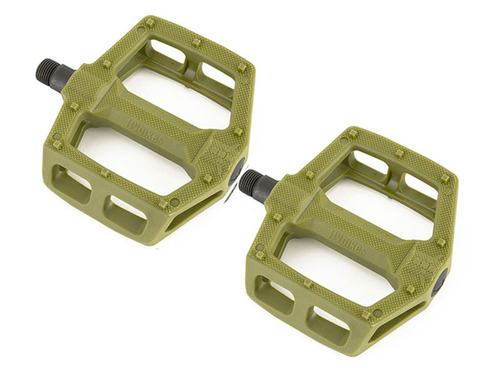 RUBEN PC PEDALS Black -Military Green-