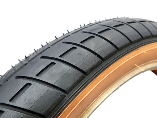 "MISSION TRACKER TIRE 2.4"" -Black + SKIN WALL-"