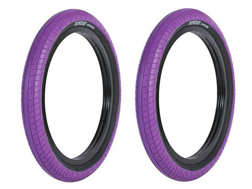 STREET SWEEPER BMX TIRE 2.4 -Purple- 2개 셋트 이벤트