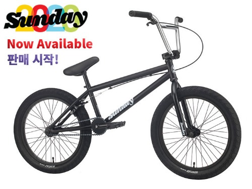[판매 시작!]2020 선데이 블루프린트 BLUEPRINT 20.5TT BMX -Matte Black+Chrome Bar-