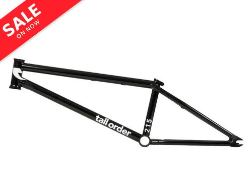 TALL ORDER 215  V2 BMX FRAME 20.6TT -Gloss Black-
