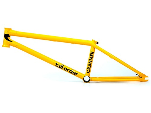 TALL ORDER 215 V2 BMX Frame - Cranmer Matt Yellow
