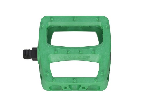 ODSY TWISTED PC PEDALS -Limited Matte Kelly Green-