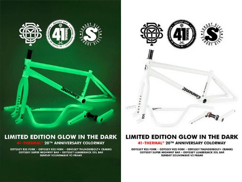 LIMITED EDITION GLOW IN THE DARK KIT