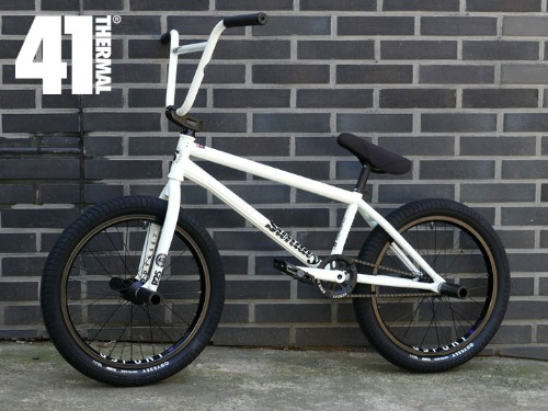 BUILT by SHREDD X LIMITED EDITION GLOW IN THE DARK BMX SUPER CUSTOM BMX