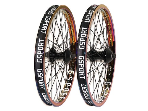 G-SPORT ROLLCAGE RIM + ROLOWAY HUB SET (OIL SLICK Limited Edition)