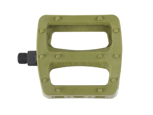 ODYSSEY TWISTED PRO PC PEDALS -Army Green-