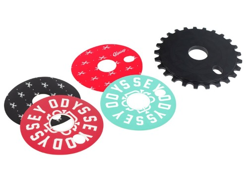 ODYSSEY DISCOGRAM SPROCKET 25T -4 Decals-