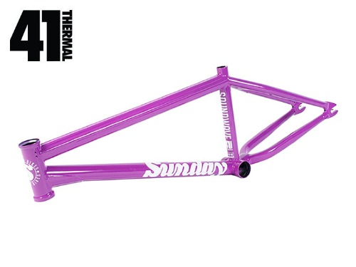 SUNDAY SOUND WAVE V3 BMX FRAME Paisley Purple [21TT]