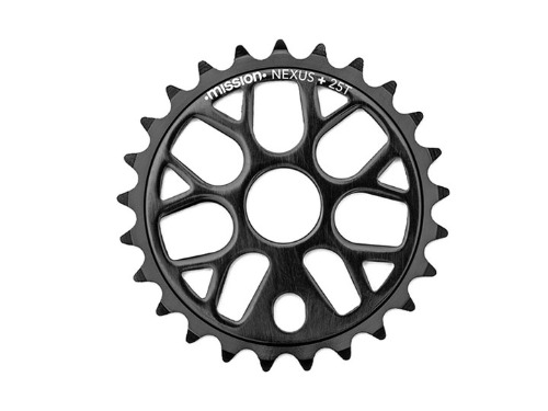MISSION NEXUS SPROCKET 25T -Black-