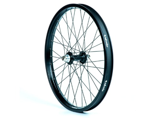 TALL ORDER Dynamics Front Wheel -All Black with Silver Spoke Nipples-