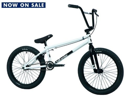 "[NOW ON SALE : 온/오프라인 구입 가능]2021 톨오더 램프 라지 TALL ORDER RAMP LARGE BMX 20.8""TT -Gloss White & Black Parts-"