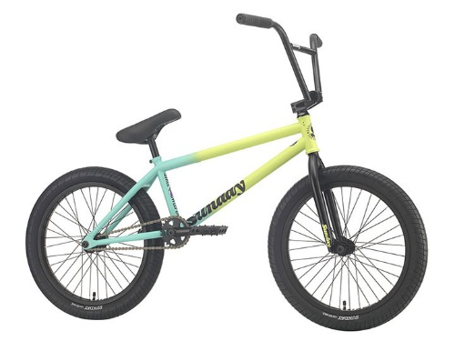 "[조기 품절]2021 선데이 스트리트 스위퍼 2021 SUNDAY STREET SWEEPER 'JAKE SEELEY' SIGNATURE 20.75""TT BMX LHD -Matte Green Fade-"