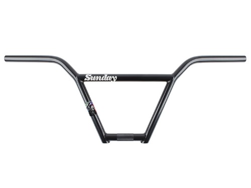 "SUNDAY STREET SWEEPER (Jake Seeley signature) 4PC BAR V3 9.25"" Rust Proof Black"