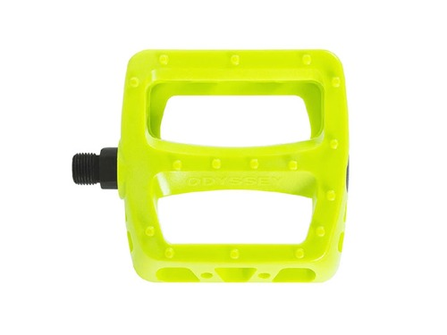 ODYSSEY TWISTED PC PEDALS -Fluorescent Yellow-