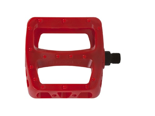 ODYSSEY TWISTED PC PEDALS -Painted Red-