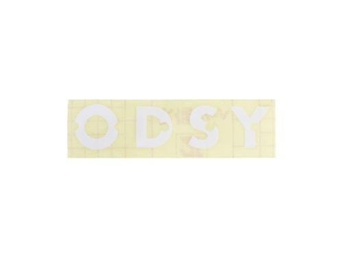 "ODYSSEY LITEHOUSE RIMS REPL DECAL ""ODSY"" (Die-Cut) -White-"