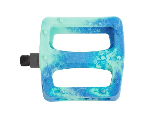 ODYSSEY TWISTED PRO PEDALS -TOOTHPASTE/NAVY SWIRL-