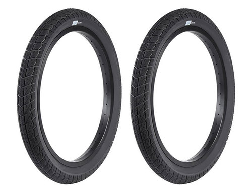 "CURRENT BMX TIRE 2.4"" Black 2개 셋트 이벤트"