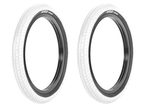 STREET SWEEPER BMX TIRE 2.4 -White- 2개 셋트 이벤트
